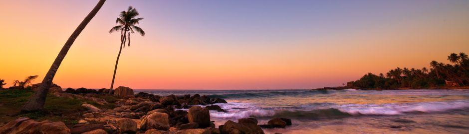 Indian Ocean Islands Sunset