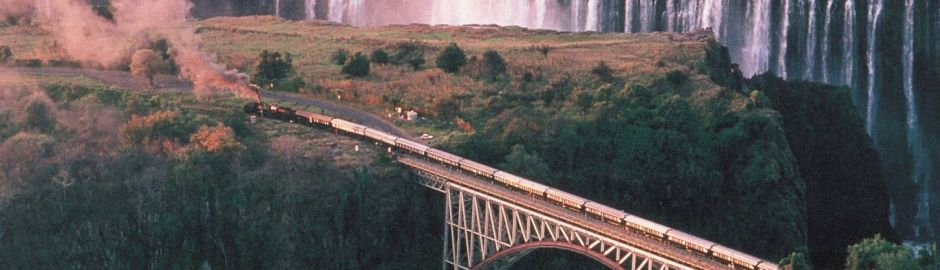 Luxury Rail Victoria Falls
