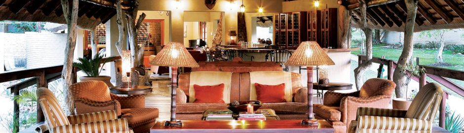 Arathusa Safari Lodge Lounge top