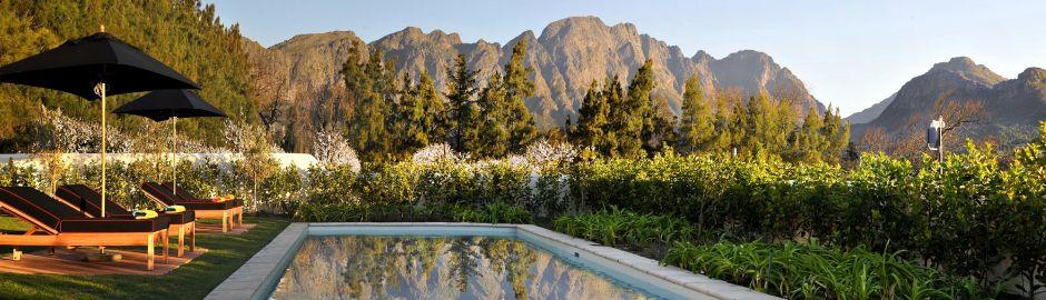 La Cle Des Montagnes Franschhoek Mountain View