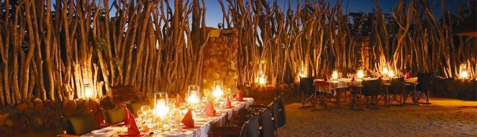 Leopard Hills Dining b