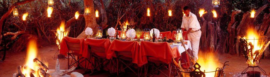 Makanyane Safari Lodge Dining b