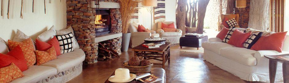 Makanyane Safari Lodge Lounge