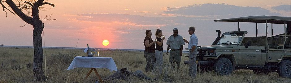 Onguma Tented Camp Sunset Bannet