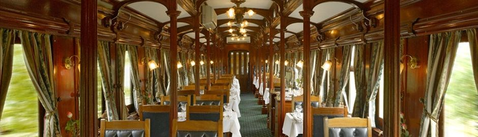 Rovos Rail dining Car b