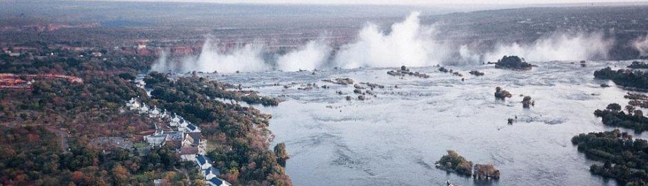 Royal Livingstone Victoria Falls Zambezi banner