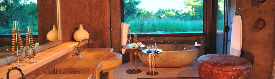Sabi Sabi Earth Lodge Bathroom acc