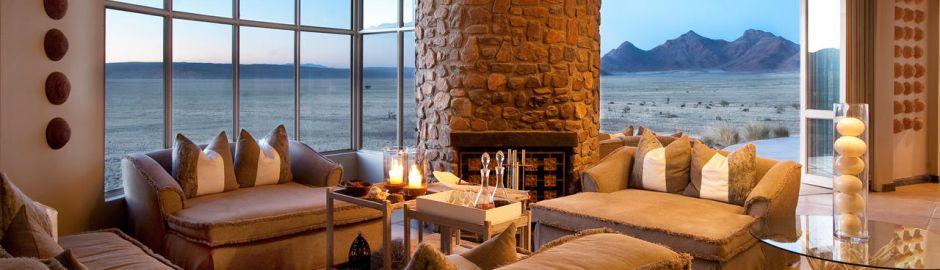 Sossusvlei Desert Lodge Villa Views banner