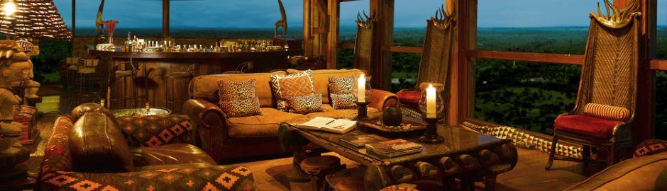 Ulusaba Private Game Reserve Pool Lounge