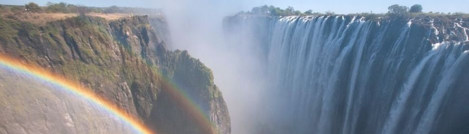 Victoria Falls Rainbow banner