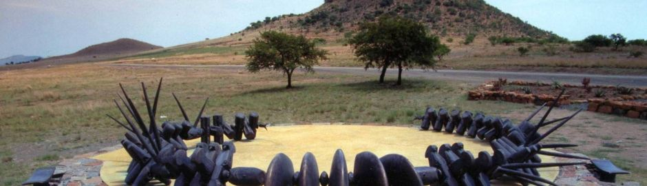 Fugitives Drift Lodge Isandlwana monument b