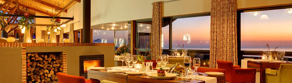 Grootbos Provate Nature Reserve Dining View top