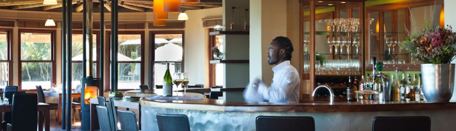Grootbos Private Nature Reserve bar