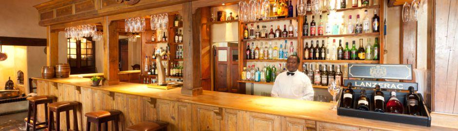 Lanzerac Hotel Taphuis b