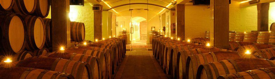 Lanzerac Hotel wine cellar b