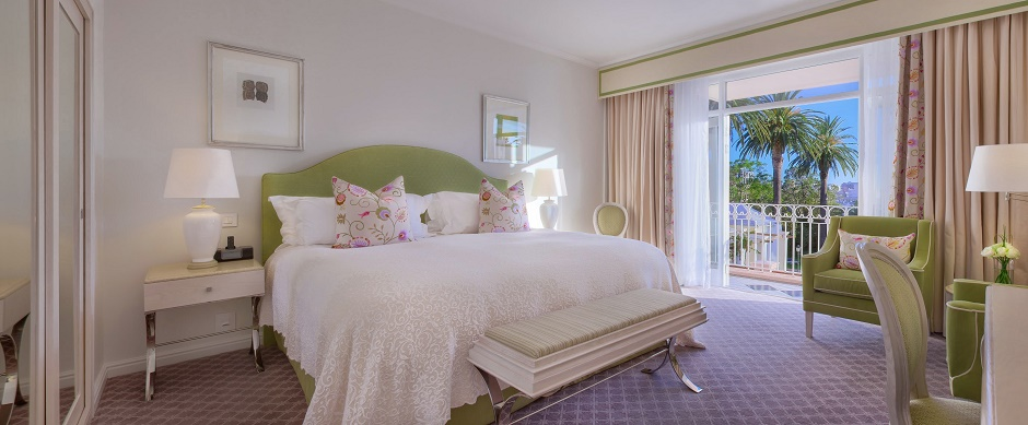 Luxury at the Mount Nelson