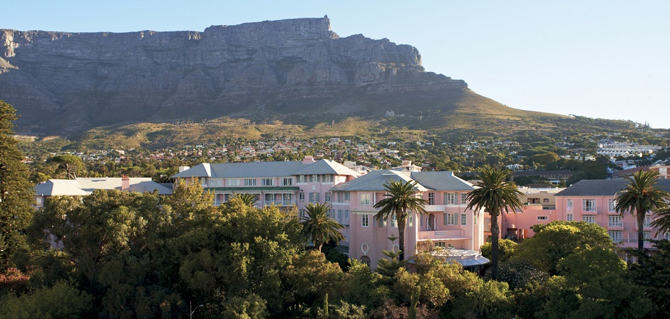 At the foot of Table Mountain: The Mount Nelson