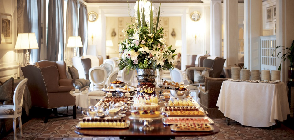 High tea at the Mount Nelson