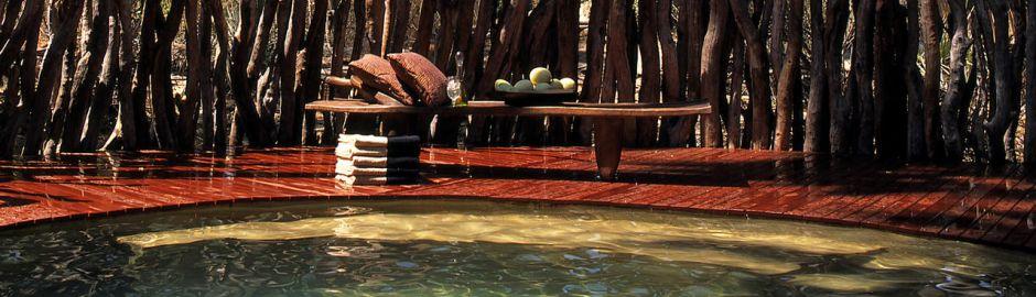 Sandibe Lodge Pool b