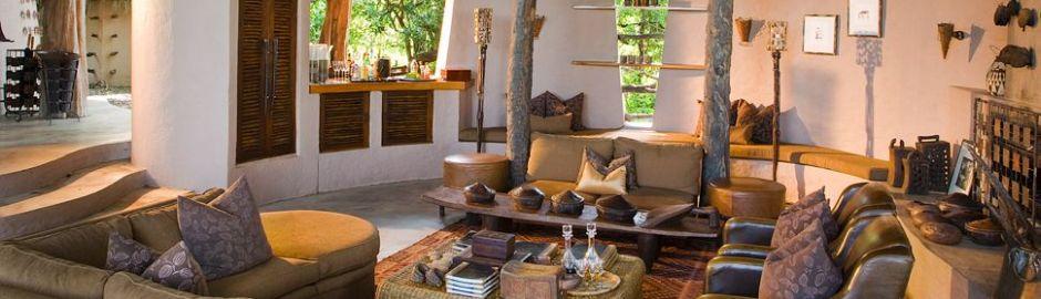 Sandibe Lodge Sitting Area b