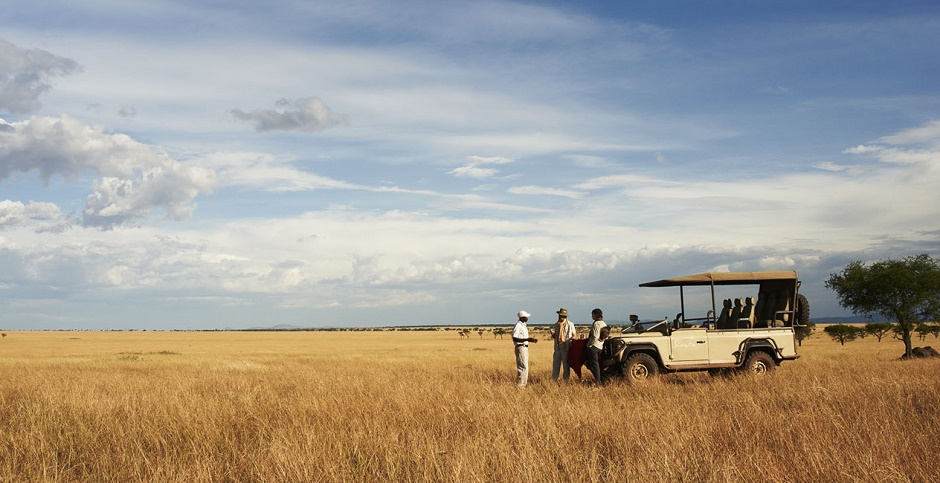 Safari in style at Singita