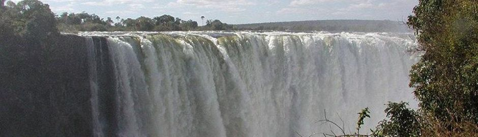 The Stanley and Livingstone at Victoria Falls Main Falls b