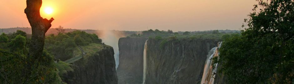The Stanley and Livingstone at Victoria Falls