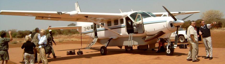 Tuningi Safari Lodge airstrip b