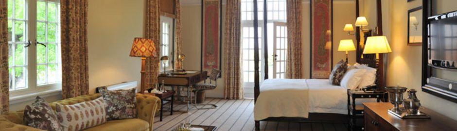 Victoria Falls Hotel Bedroom b