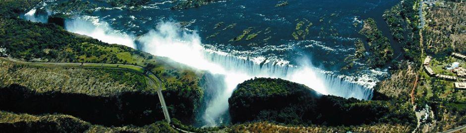 Victoria Falls Hotel Falls b