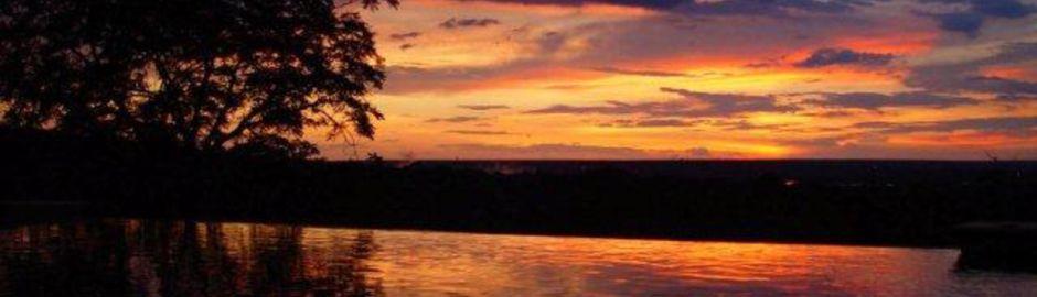 Victoria Falls Safari Lodge Sunset b