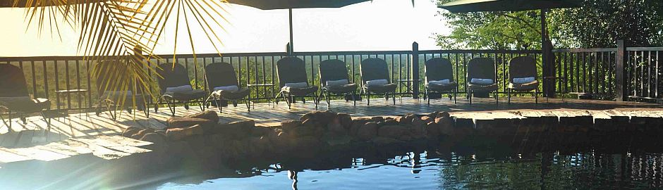 Victoria Falls Safari Lodge Swimming Pool b