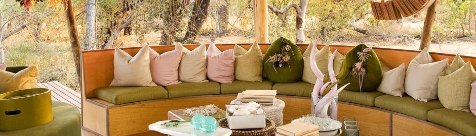 Xaranna Okavango Delta Camp Botswana Lounge b