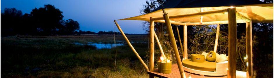 Xaranna Okavango Delta Camp Botswana Veiwing Deck in