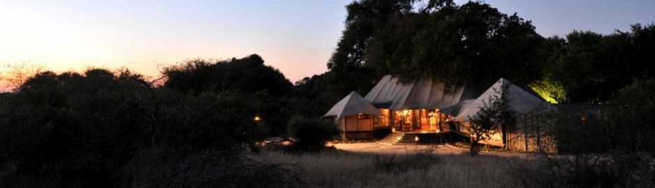 Hamiltons Tented Camp Night b