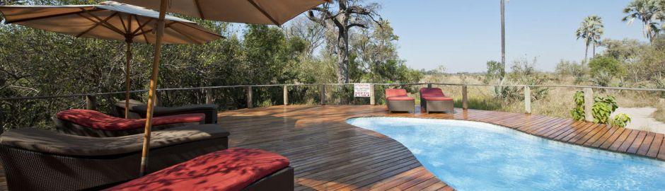 Seba Camp swimming pool banner