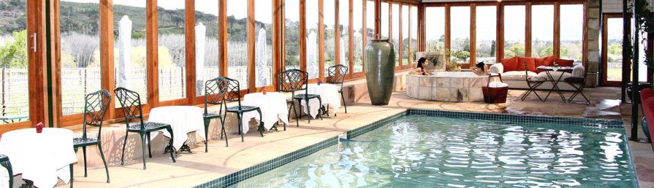 Lanzerac Hotel Pool b