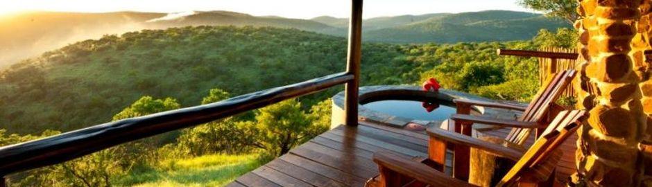 Leopard Mountain Game Lodge pool deck b