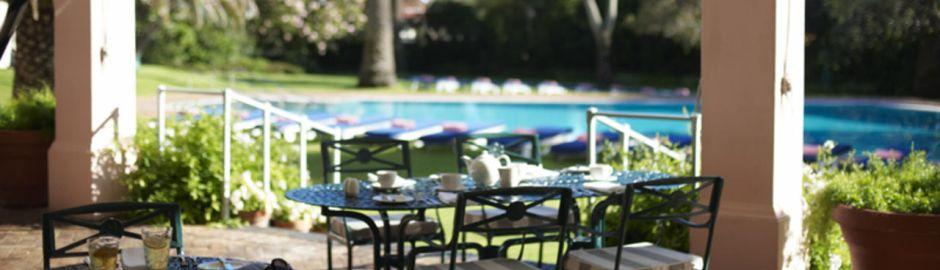 The Mount Nelson Hotel Terrace b