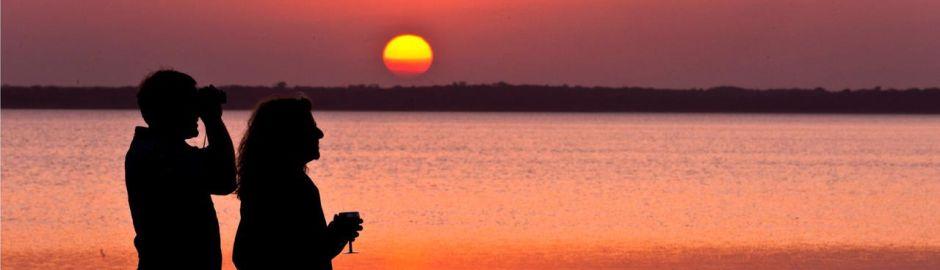 Thonga Beach Lodge sunset b