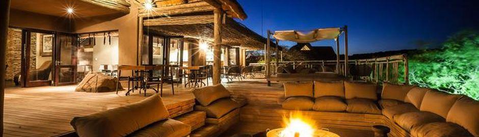 Nambiti Hills Private Game Lodge Deck b
