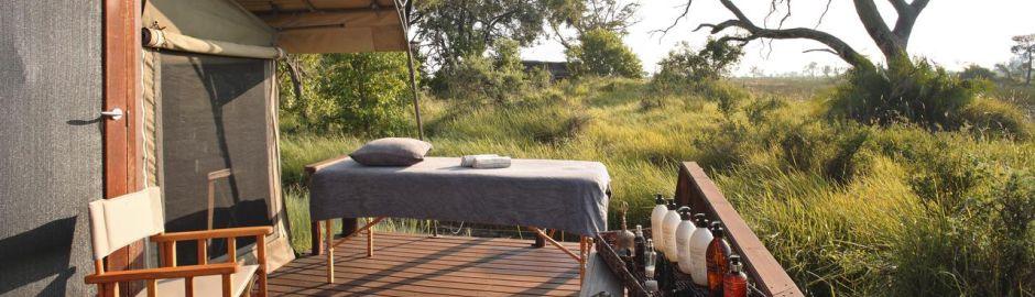 Nxabega Okavango Tented Camp deck b