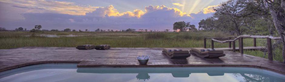 Nxabega Okavango Tented Camp pool b