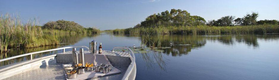 Nxabega Okavango Tented Camp waterways b