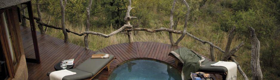 Madikwe Safari Lodge pool deck