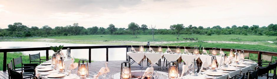 Arathusa Safari Lodge Dining Kruger honeymoon