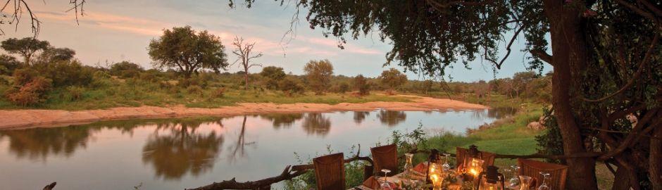 Motswari Safari Lodge Dining Kruger honeymoon