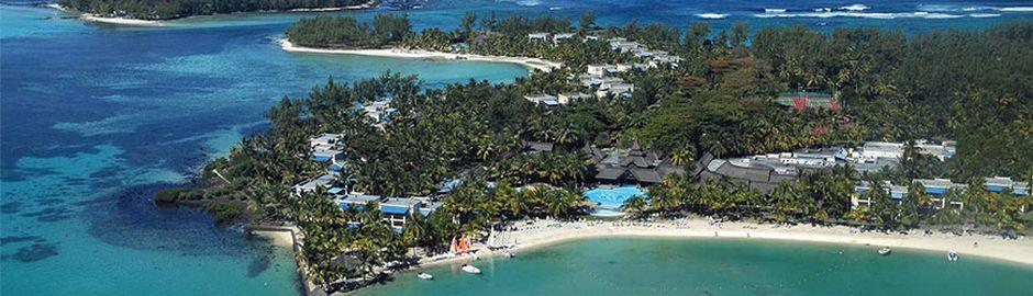 Shandrani Resort & Spa Aerial View