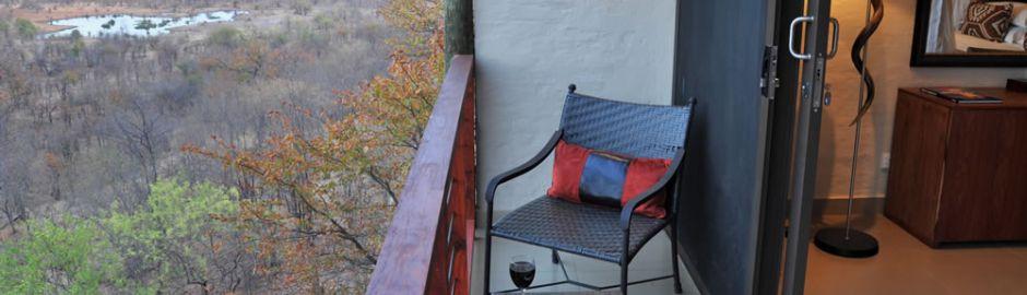 Victoria Falls Safari Club balcony b