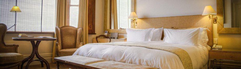 Ellerman House balcony 10 Night Cape Town & Safari Honeymoon